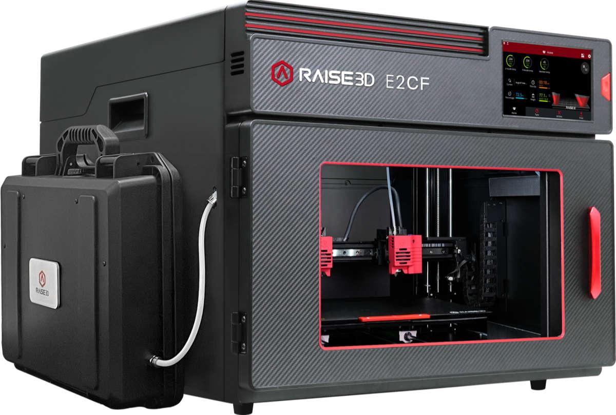Raise3D dévoile sa nouvelle imprimante 3D prête pour la fibre de carbone